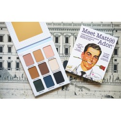 باليت ايشادو ذا بالم ميت مات ادور Meet Matt(e) Ador.® Matte Eyeshadow Palette