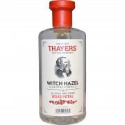 تونر ماء الورد والالوفيرا Thayers, Rose Petal Witch Hazel, with Aloe Vera Formula, Alcohol-Free Toner, 355 ml