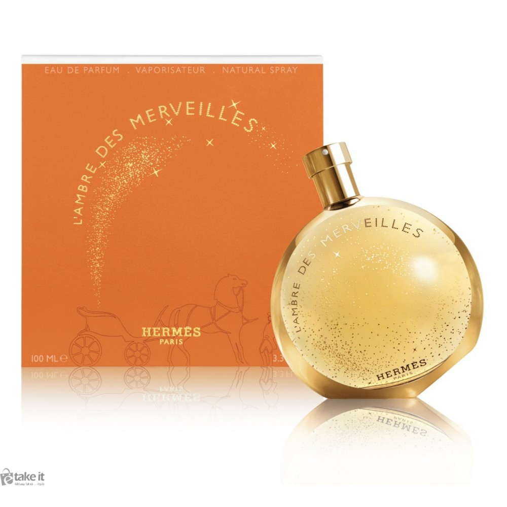 00c820e2b عطر لامبر ديز مرفيل هيرميس100 مل L'Ambre des Merveilles Hermes for women  and men ...
