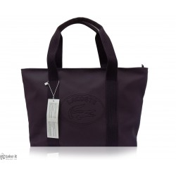 حقيبة من ماركة لاكوست LACOSTE Large SHOPPING BAG - Plum perfect NF0540NC