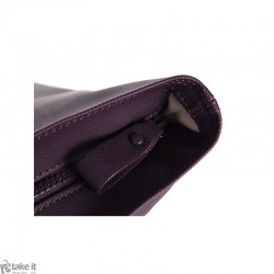 حقيبة من ماركة لاكوست LACOSTE Medium SHOPPING BAG - Plum perfect NF0540NC