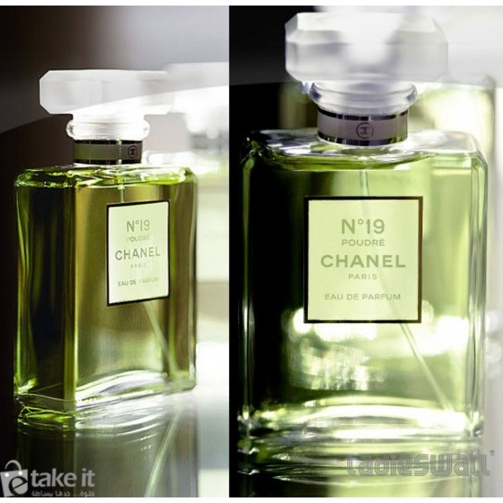 daadfbc60 SR 870-عطر-CHANEL-عطر شانيل نو 19 نسائي100مل Chanel No 19 Parfum ...