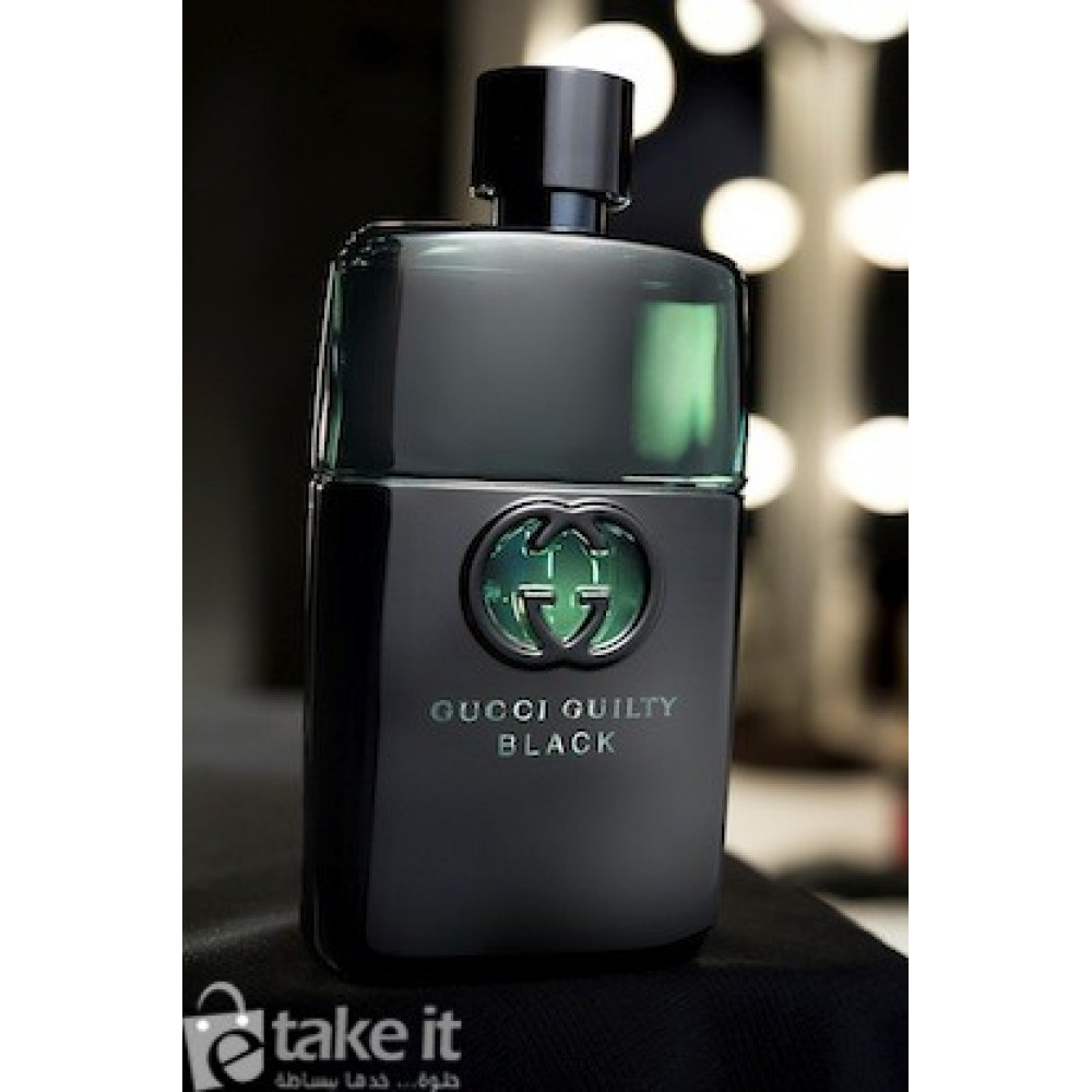 3febeabe0 ... عطر جيلتي بلاك بور هومي من جوتشي 50 مل Gucci Guilty Black Pour Homme  Gucci for ...