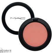 بلاشر جنجرلي من ماك MAC sheertone blush swatches gingerly