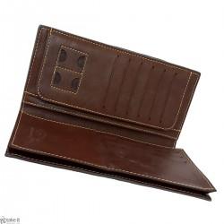 محفظة رجالية جلد ناعم من تصميم بورينياس borenyas wallet