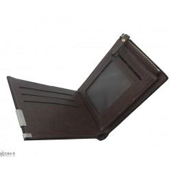 محفظة رجالية جلد بلونين من تصميم بورينياس borenyas wallet