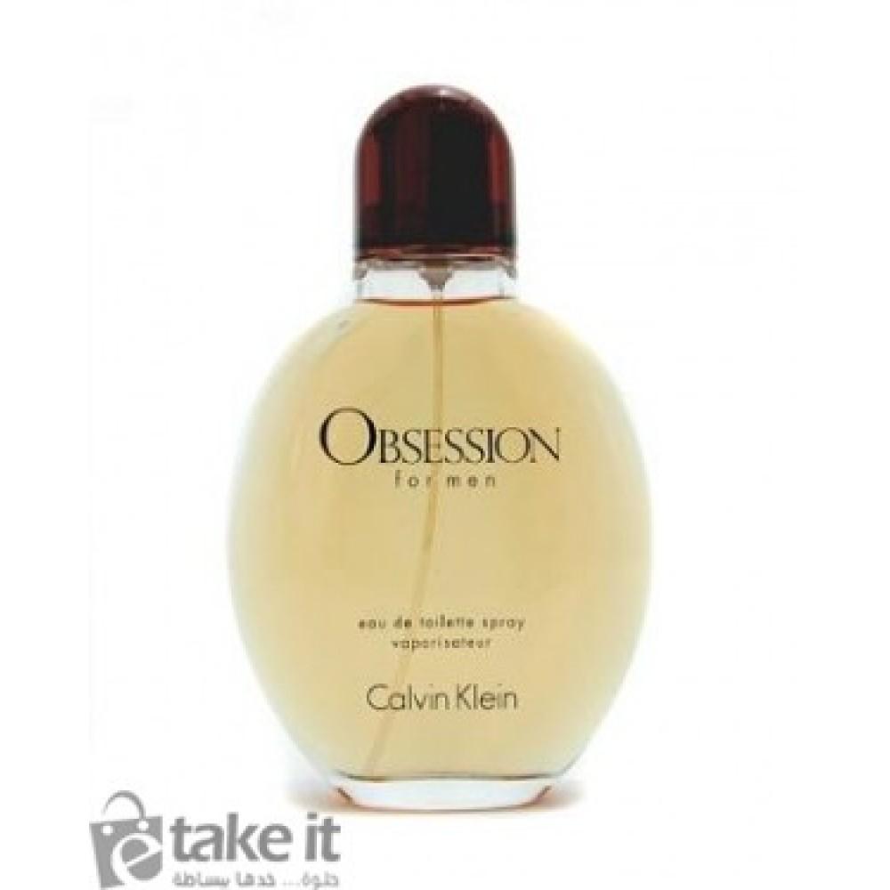 b110e4b34 ... عطر اوبسيشن فور مان من كالفن كلاين رجالي125مل Obsession for Men Calvin  Klein for men ...